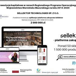 Sellektor.com – innowacyjna platforma zakupowa zrealizowana dzięki funduszowi kapitałowemu z RPO WiM 2014-2020
